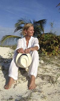 Laura-on-Beach